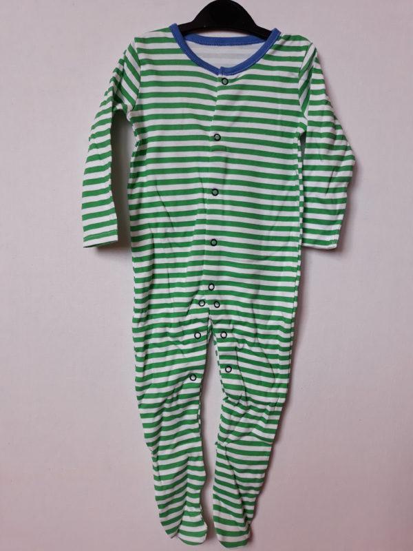 Сліп зелена смужка хлопчику 9-12 місяців