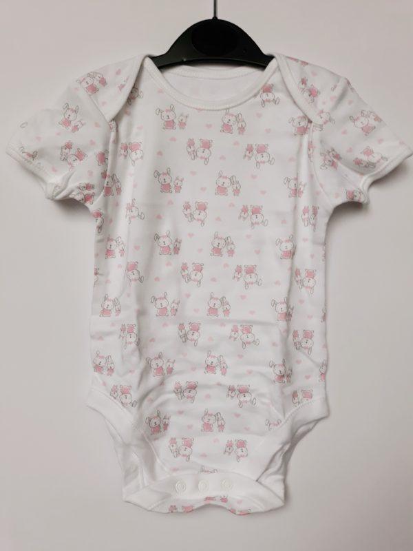 Боді зайченя на дівчинку 9-12 місяців