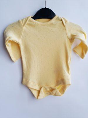 Боді жовтенький -Речі для малечі