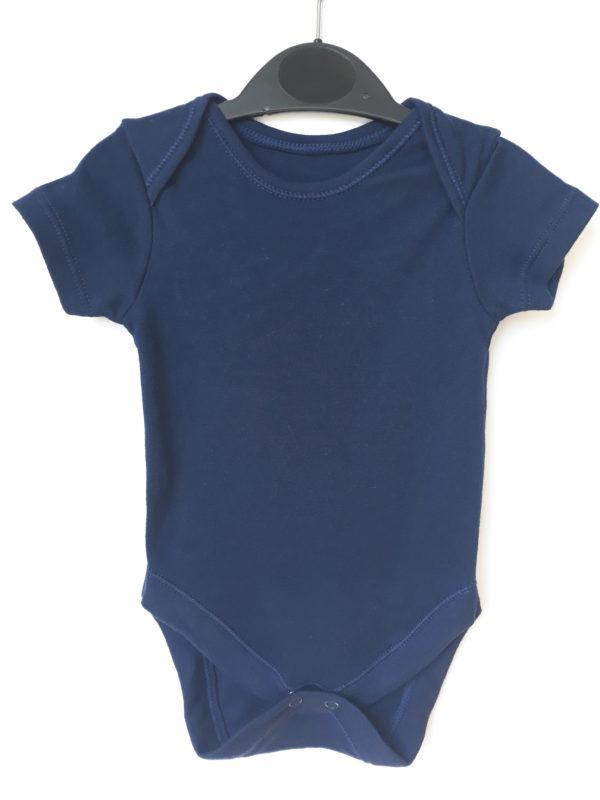 Бодік синій для хлопчика на 0-3 місяці George