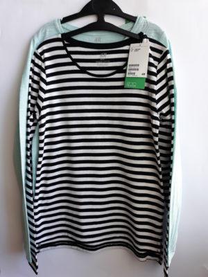 Реглани для дівчинки смужка H&M