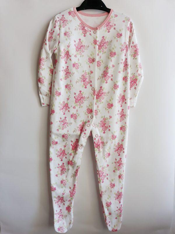 Сліп рожеві квіточки на дівчинку 6-9 місяців George