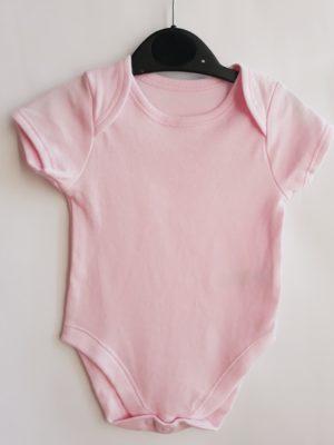 Боді рожевий для дівчинки 0-3 міс Early days