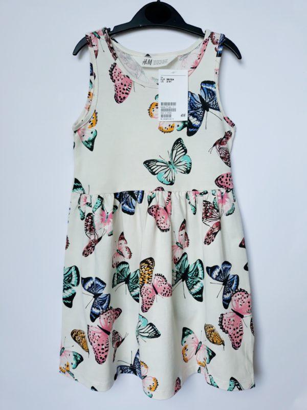 Сукня метелики на 2-4 роки H&M