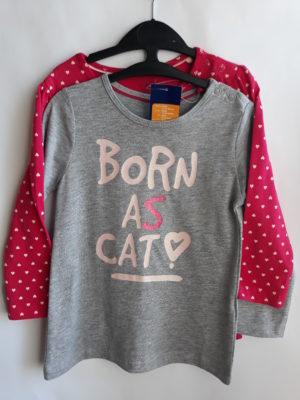 Реглани для дівчинки кот Lupilu