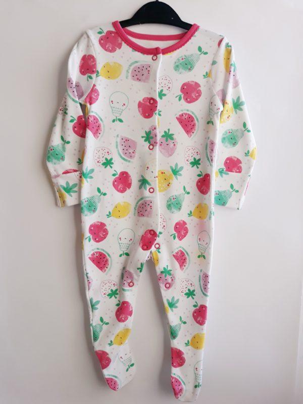 Сліп великі ягоди для дівчинки на 3-6 місяців TU