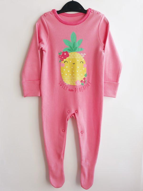 Сліп ананас для дівчинки на 3-6 місяців TU