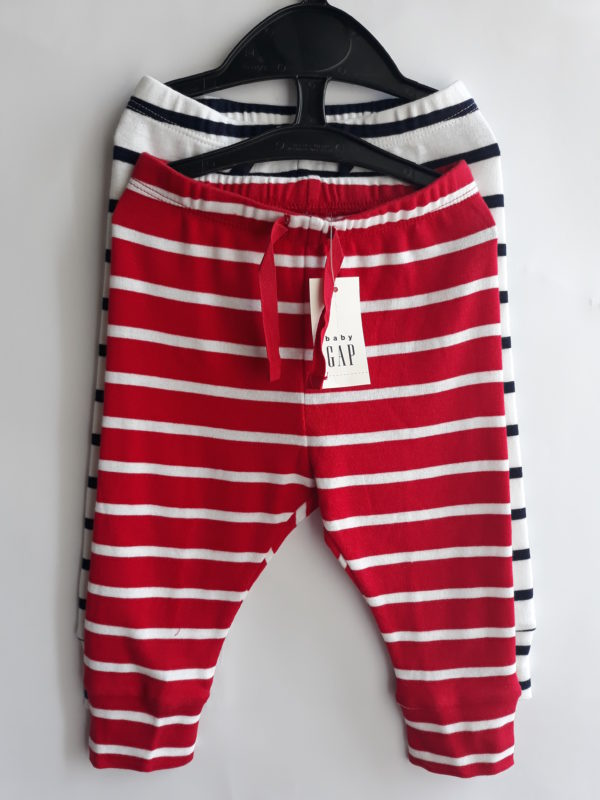 Штани смужки для хлопчика 6-12 місяців Gap