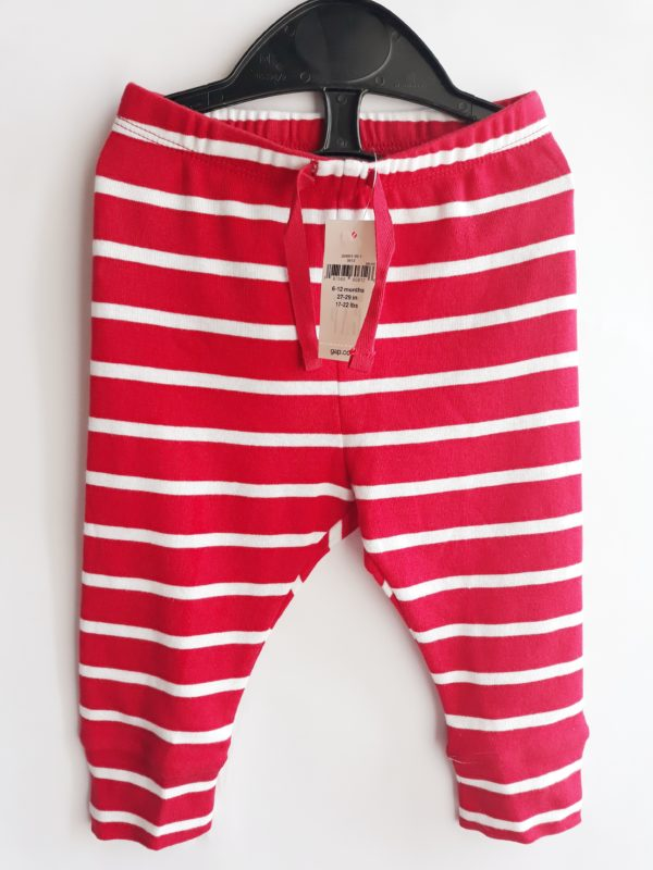 Штани червоні для хлопчика 6-12 місяців Gap