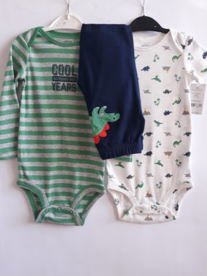 Набір боді та штани для хлопчика 18 міс Carter's