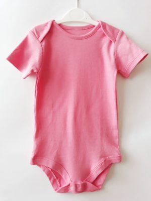 Боді колір рожевий - Речі для малечі