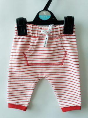 Штани біло-червоні - Речі для малечі