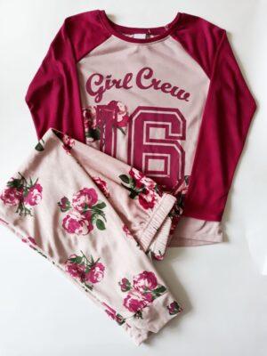 Піжама квіти для дівчинки - Речі для малечі