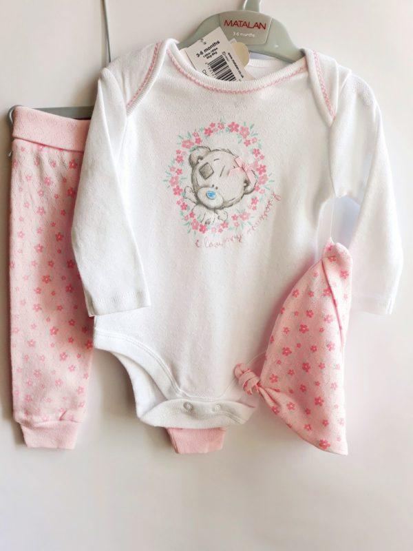 Набір боді та штани для дівчинки 3-6 місяців George- Речі для малечі