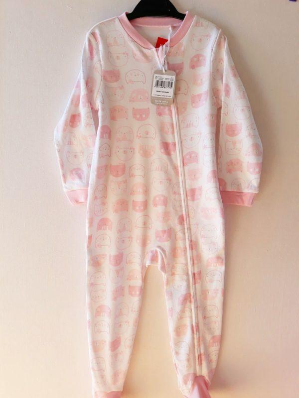 Сліпи рожево білий для дівчинці на 18-24 TU - Речі для малечі