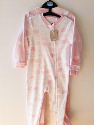Сліпи мордашки рожеві для дівчинці на 18-24 TU - Речі для малечі