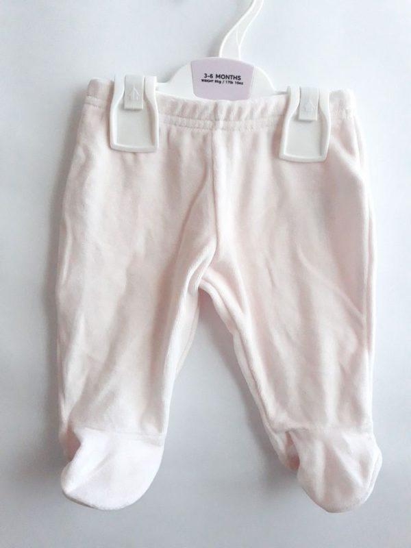 Велюрові штани білі M&S