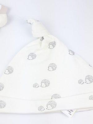 шапочка їжачки на білому M&S