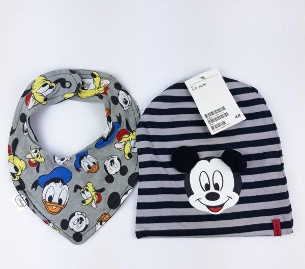 слинявчик та шапочка Disney H&M