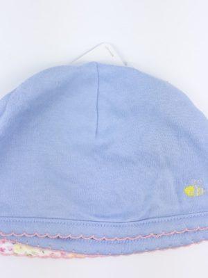 Шапочка блакитна на дівчинку Mothercare