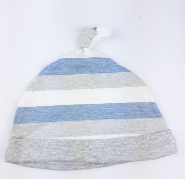 Шапочка стрічки білі сині сірі George