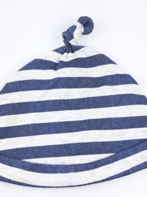 Шапочка білі та сині смужки George