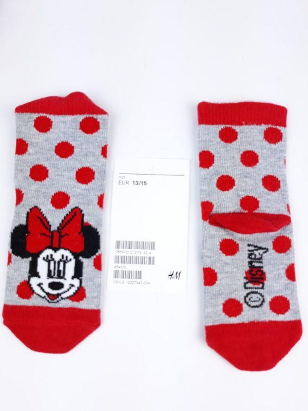 Шкарпетки червоне коло Мікі Маус H&M