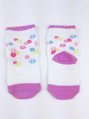 Шкарпетки квіти на білому F&F