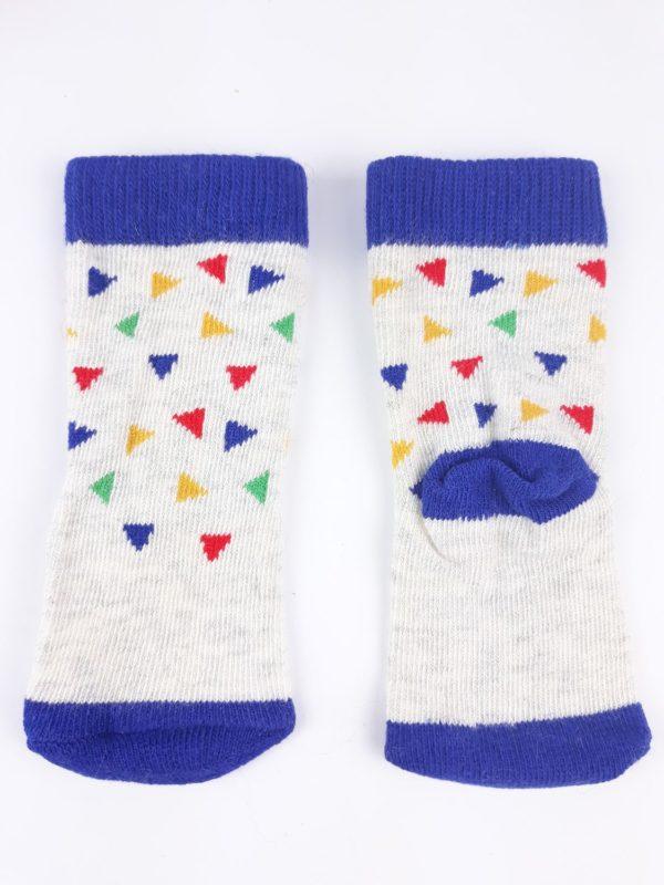 Шкарпетки кольорові трикутники TU