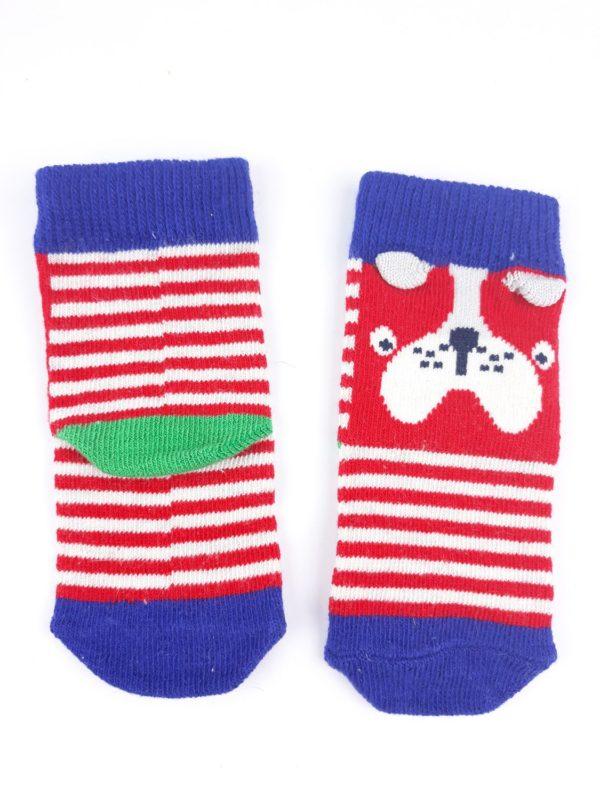 Шкарпетки білі червоні та сині кольори TU