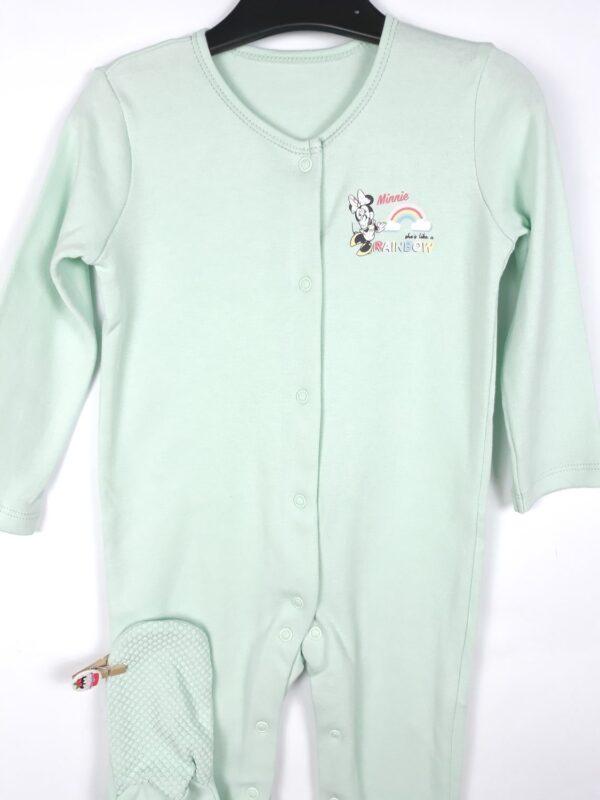 Сліп зелений з міккі та веселкою George Disney