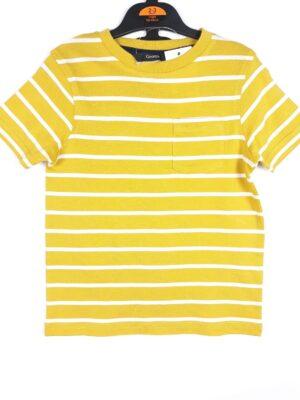 Футболка жовта у білу смужку George