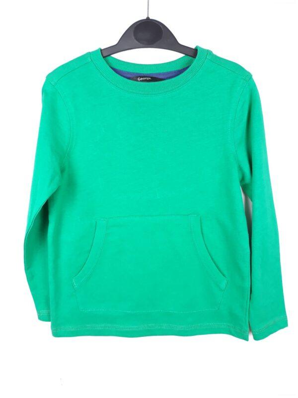 Реглан зелений з кишенями George