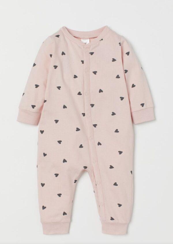 Сліп з серцями рожевий H&M
