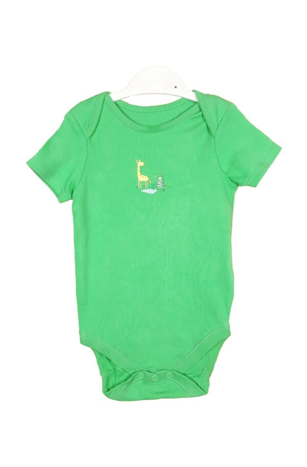 Боді зелений з жирафою Dunnes Stores