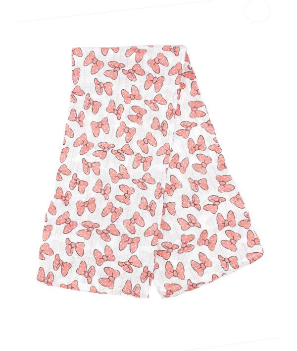 Пелюшки рожеві бантики Disney George