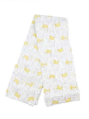Пелюшки пух у жовтій футболці Disney George