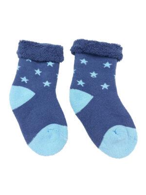 шкарпетки сині з блакитними зірками George