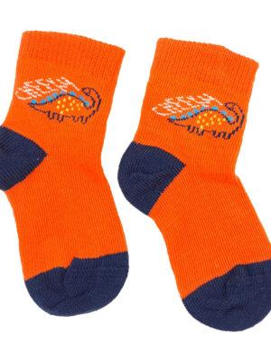 шкарпетки помаранчеві с драконом George