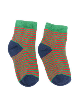 шкарпетки зелені з червоною смужкою George