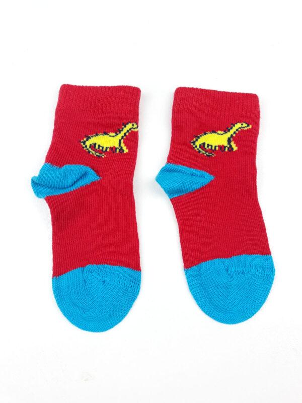 шкарпетки червоно-блакитні з драконом George