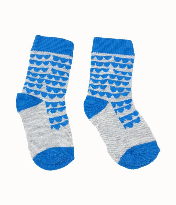 шкарпетки синьо-сірі TU