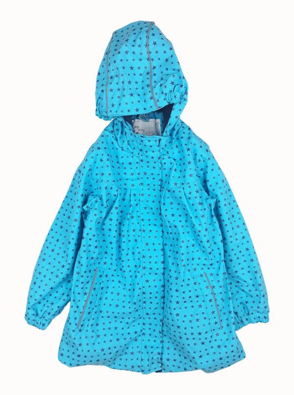 куртка водозахисна блакитна з зірками X-Mail
