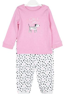Піжама рожева з собачкою George