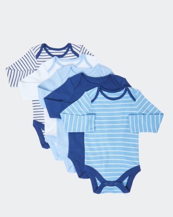 Набір боді синьо-блакитних кольорів Dunnes Stores