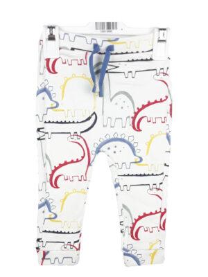 штани білі з динозаврами George