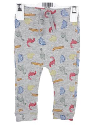 штани сірі з динозаврами George