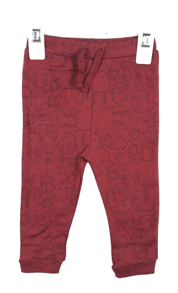 штани коричнево-червоні George