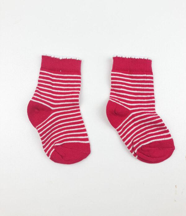 Шкарпетки червоно біла смужка George