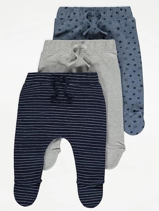 Набір штанів синього та сірого кольору George